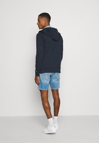 Tommy Jeans - ESSENTIAL GRAPHIC ZIPTHROUGH - Collegetakki - twilight navy - 2