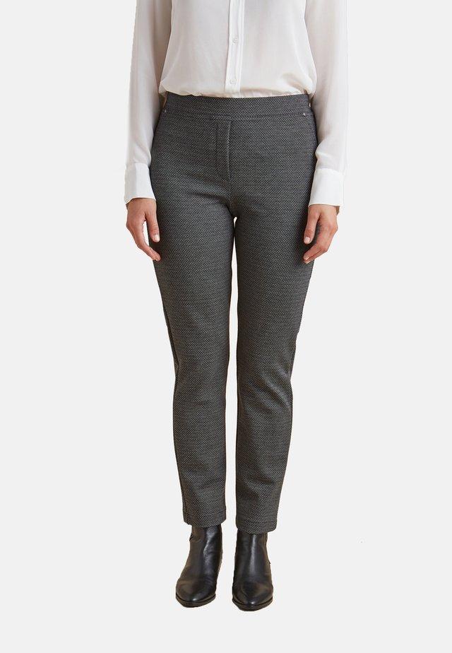 FANTASIA - Trousers - nero