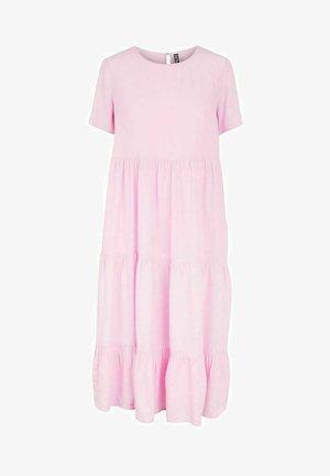 Maxi dress - lilac chiffon