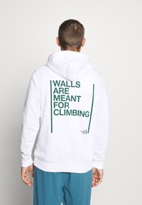 The North Face - WALLS ARE MEANT FOR CLIMBING - Luvtröja - white - 2