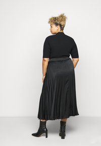 Persona by Marina Rinaldi - CARDINE - Pleated skirt - black - 2