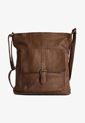 JINN - Across body bag - walnut
