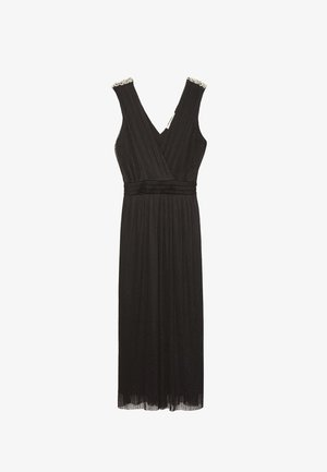 MIT PERLEN - Maxi šaty - black