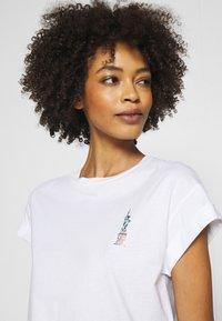 Rich & Royal - Print T-shirt - white - 4
