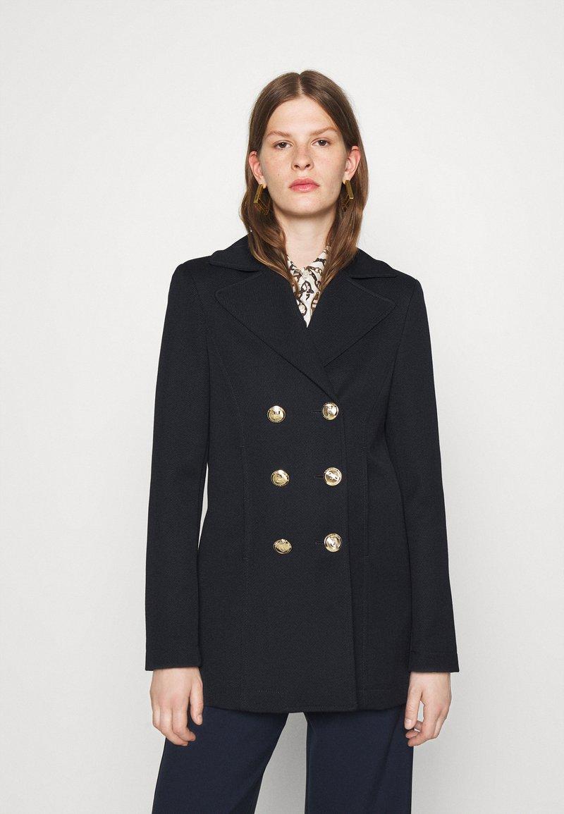 Patrizia Pepe - Short coat - dark navy