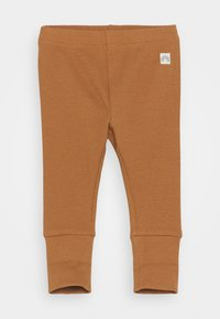 Lindex - SOLID UNISEX - Legging - dusty brown - 0
