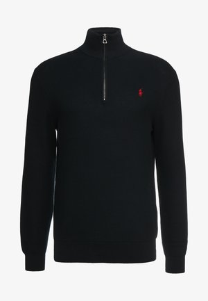 PIMA TEXTURE - Jumper - black