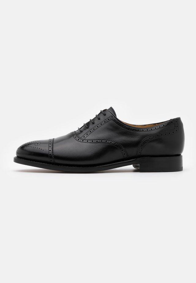 MICHAEL - Smart lace-ups - orleans black