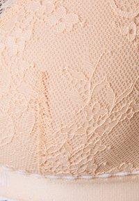 Emporio Armani - PADDED BRALETTE BRA - Triangle bra - cipria/powder pink - 2