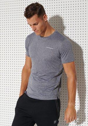 ACTIVE - Sports shirt - slate stripe
