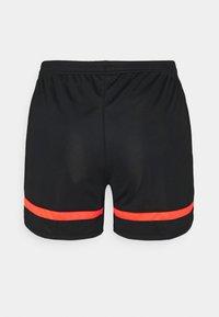 Nike Performance - DRY ACADEMY21 SHORT - Sports shorts - black/bright crimson - 1