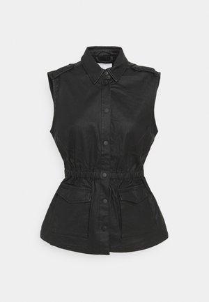 OBJBELLE VEST - Waistcoat - black
