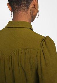 Vero Moda - VMAYA  - Button-down blouse - fir green - 5