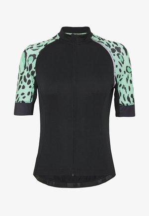 ONPPERFORMANCE BIKE PETIT - T-Shirt print - black/green ash