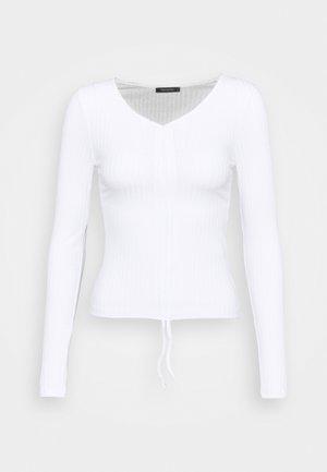 LACIVERT - Long sleeved top - white