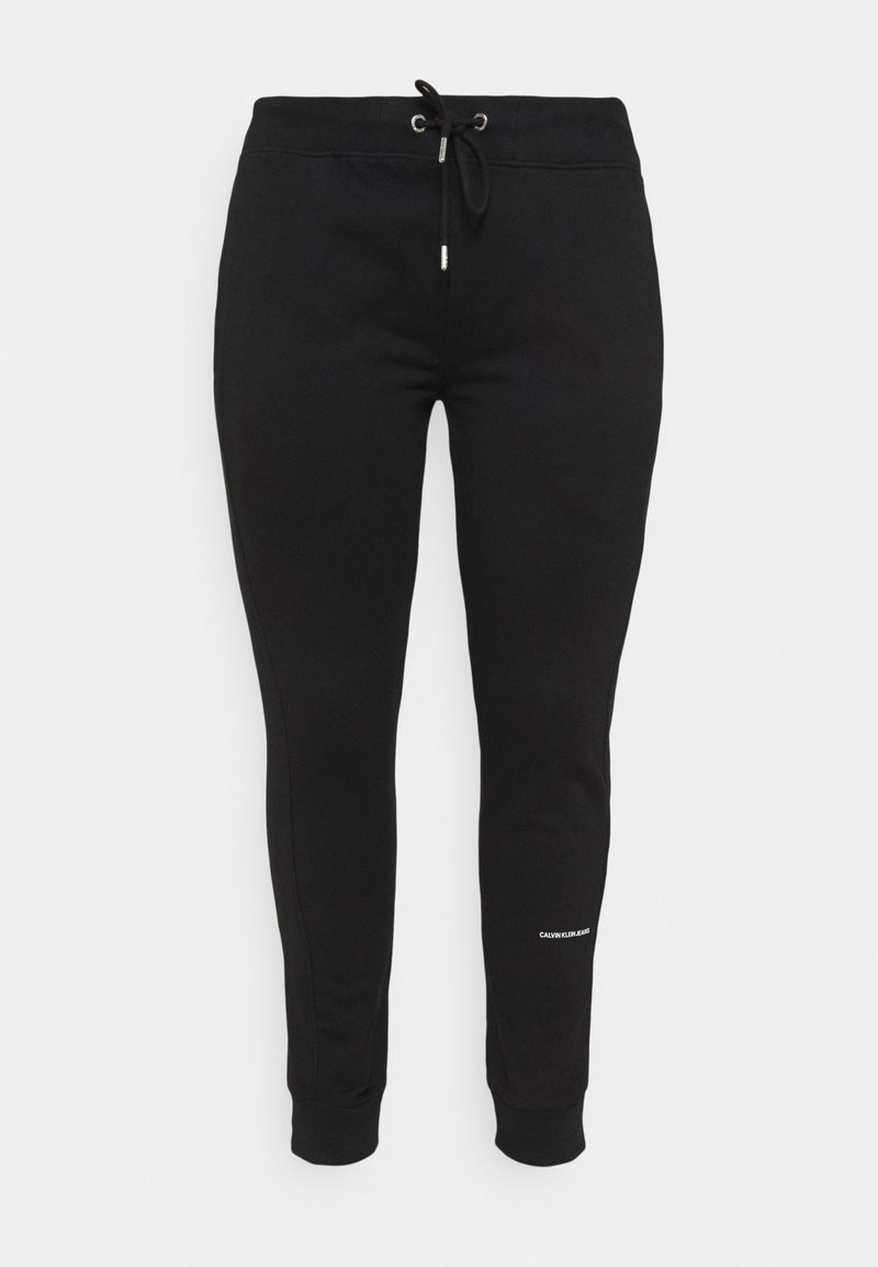 Calvin Klein Jeans - MICRO BRANDING PANT - Tracksuit bottoms - black