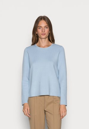 SLFMERLE O NECK - Trui - cashmere blue
