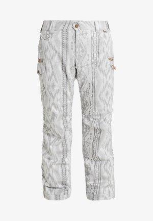 SNOW CULTURE PANT - Snow pants - aztec glacier grey