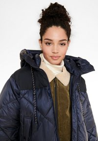 Aigle - FASSIE LONG - Winter coat - bleu marine - 4