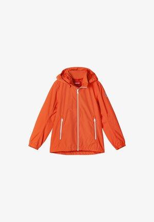 Waterproof jacket - orange