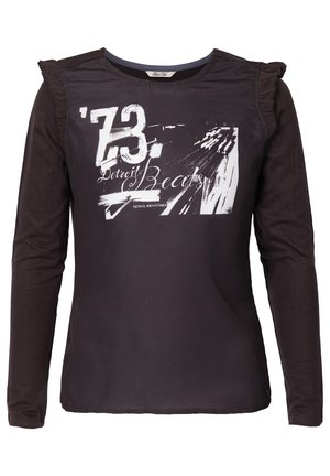 Long sleeved top - anthracite