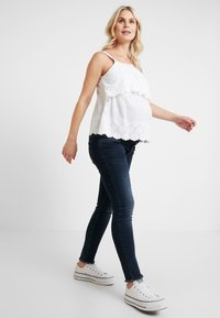 Dorothy Perkins Maternity - BRODERIE NURSING CAMI - Bluse - white - 1