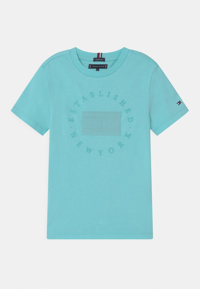 HERITAGE LOGO - T-shirt med print - bluefish