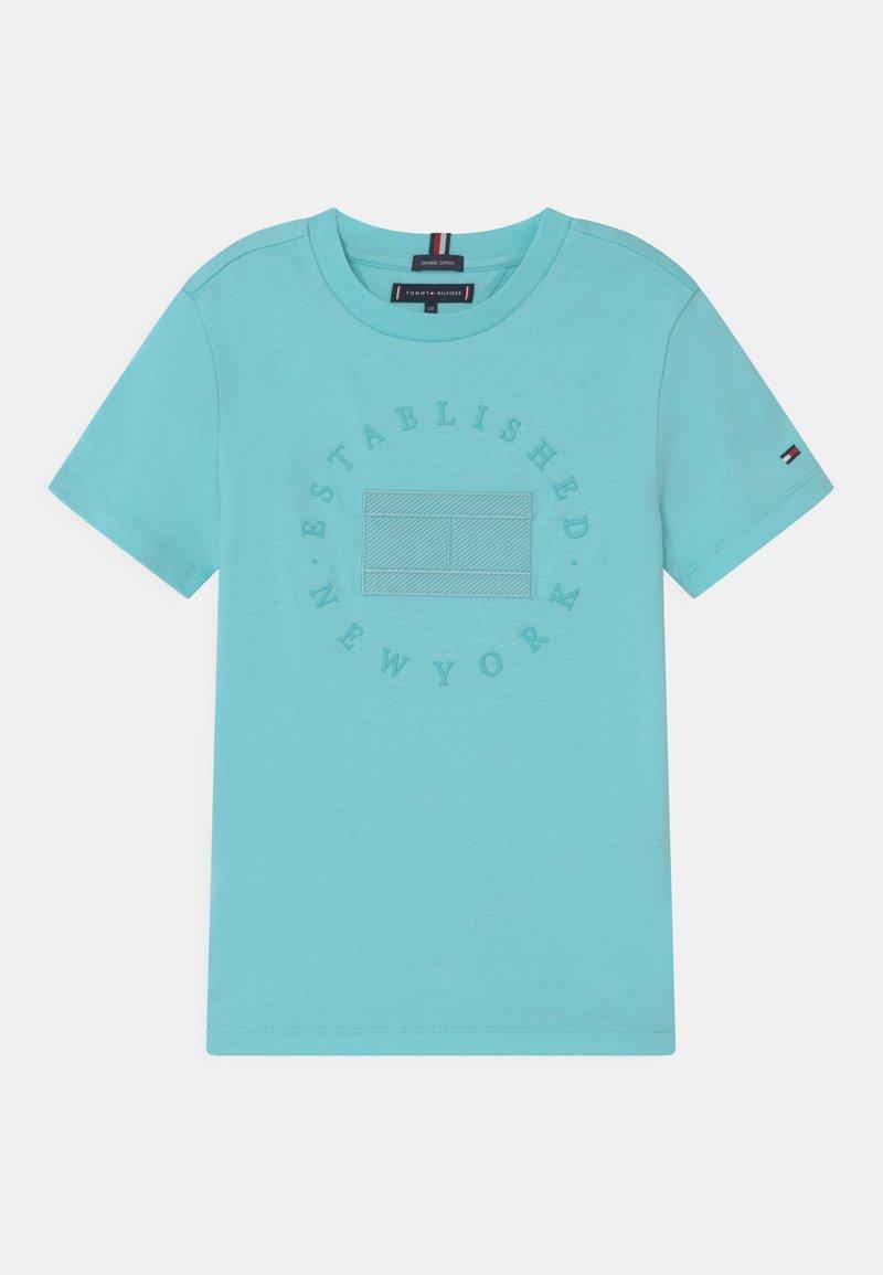 Tommy Hilfiger - HERITAGE LOGO - Print T-shirt - bluefish