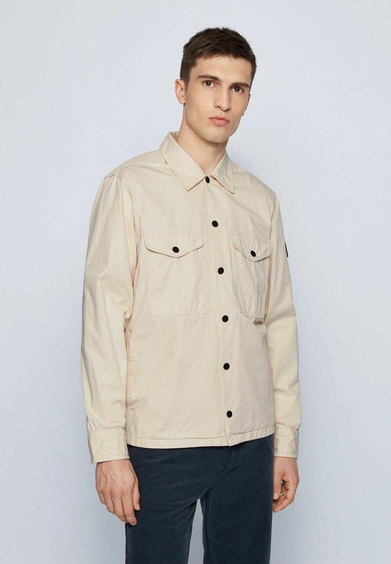 BOSS - LOVEL - Shirt - light beige