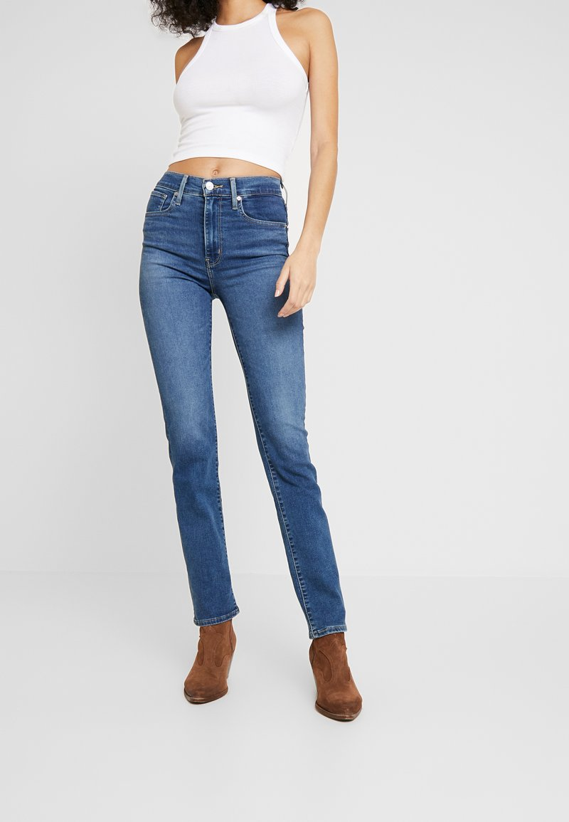Levi's® - 724™ HIGH RISE STRAIGHT - Jeansy Straight Leg - paris storm