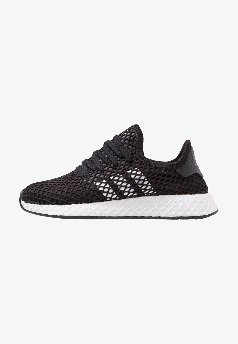 adidas Originals - DEERUPT RUNNER - Trainers - core balck/footwear white