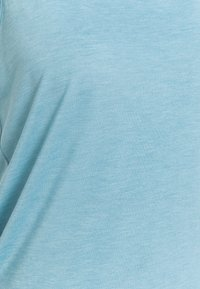 Nike Performance - YOGA LAYER TANK - Sportshirt - cerulean heather/glacier blue/light armory blue - 5