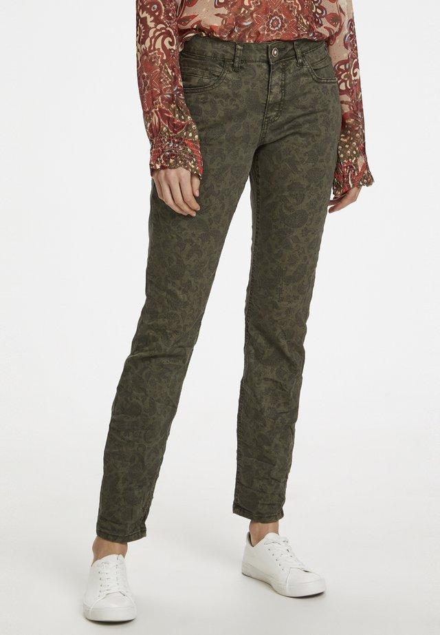 Slim fit jeans - sea turtle paisley
