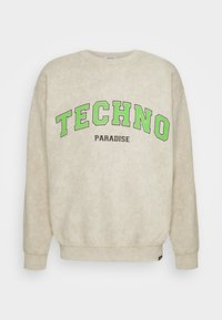 Vintage Supply - TECHNO PARADISE - Collegepaita - sand - 0