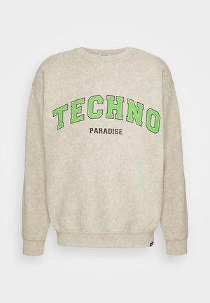 TECHNO PARADISE - Sweatshirt - sand