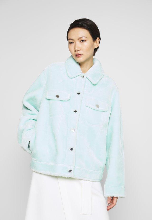 MAIDA - Lehká bunda - moonlight jade