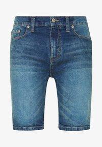D-STRUCT - ARLES  - Denim shorts - blue - 3