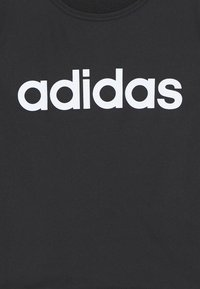 adidas Performance - T-shirt print - black/white - 2