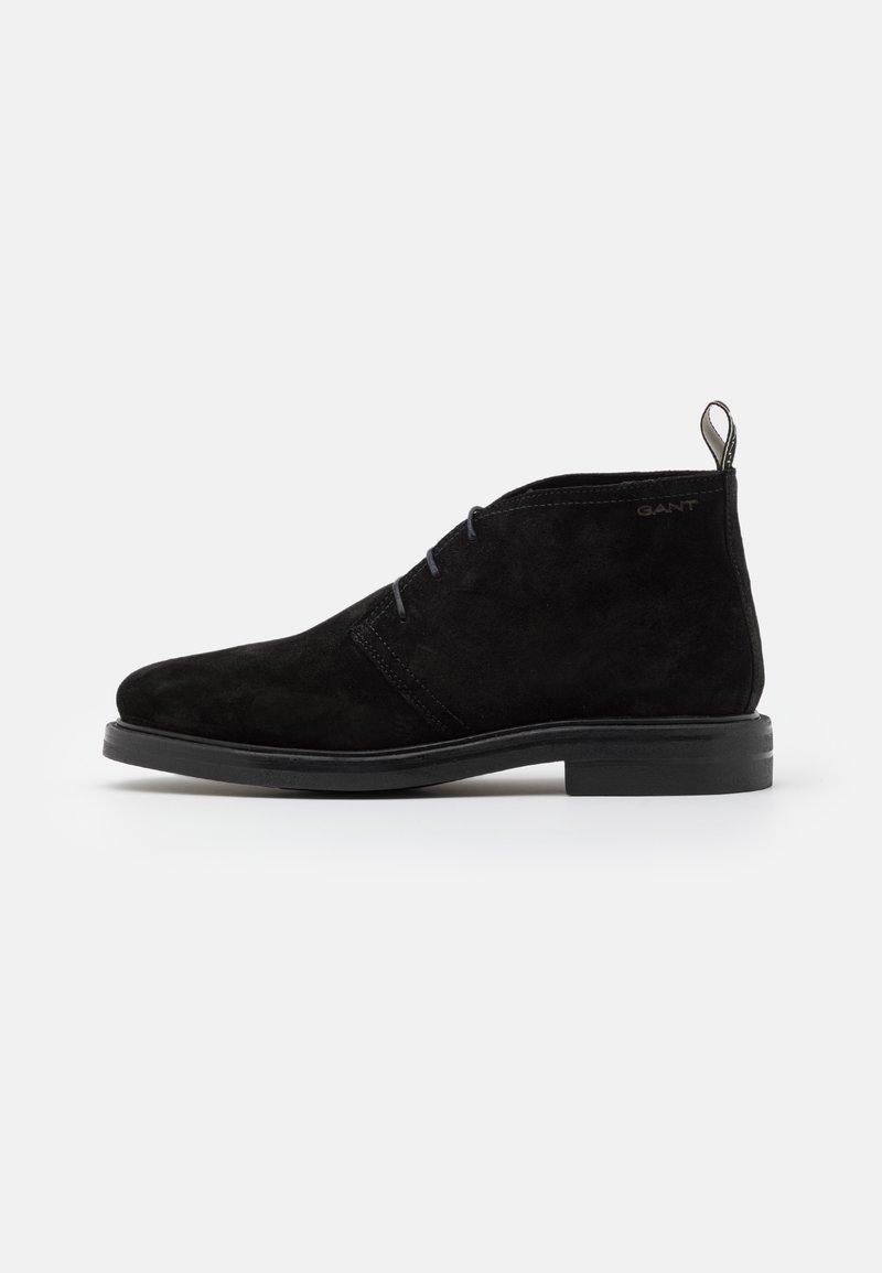 GANT - KYREE - Volnočasové šněrovací boty - black