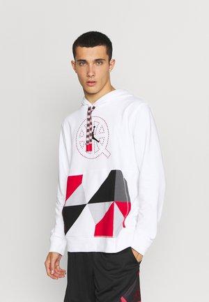 Sweatshirt - white/university red/black