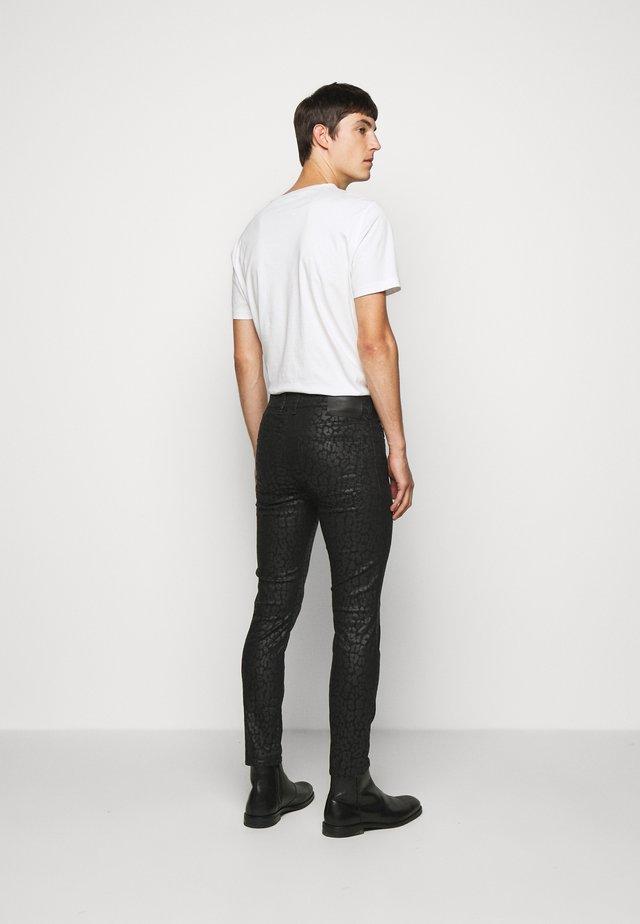 SLICK - Kalhoty - black