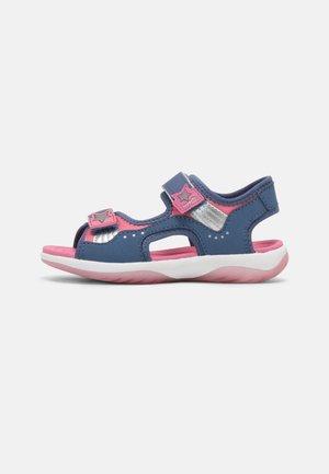 Sandals - blau/rosa