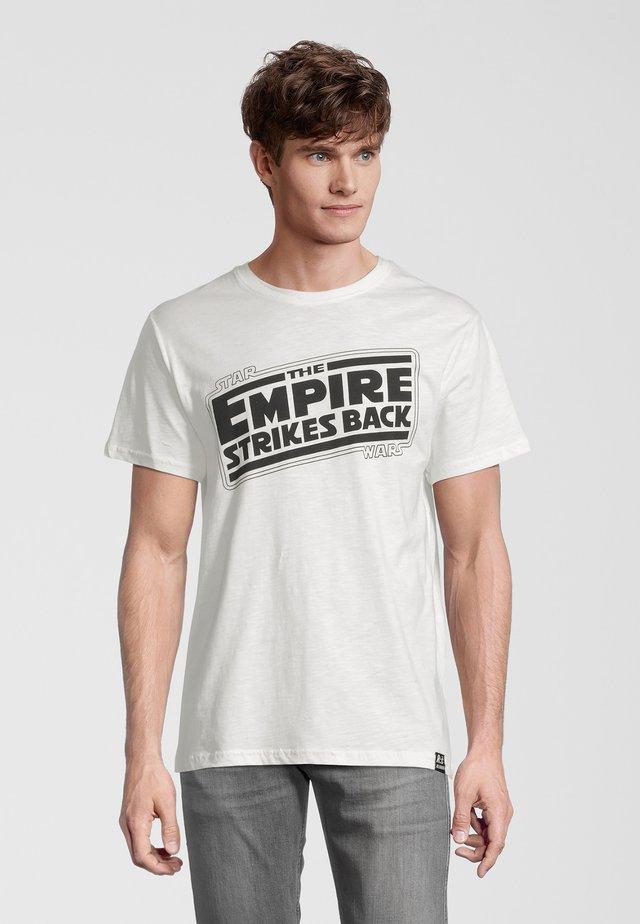 STAR WARS EMPIRE STRIKES BACK - Printtipaita - weiß