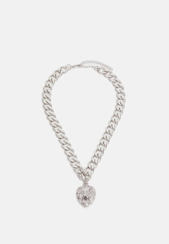 LION BASIC NECKLACE - Collana - silver-coloured
