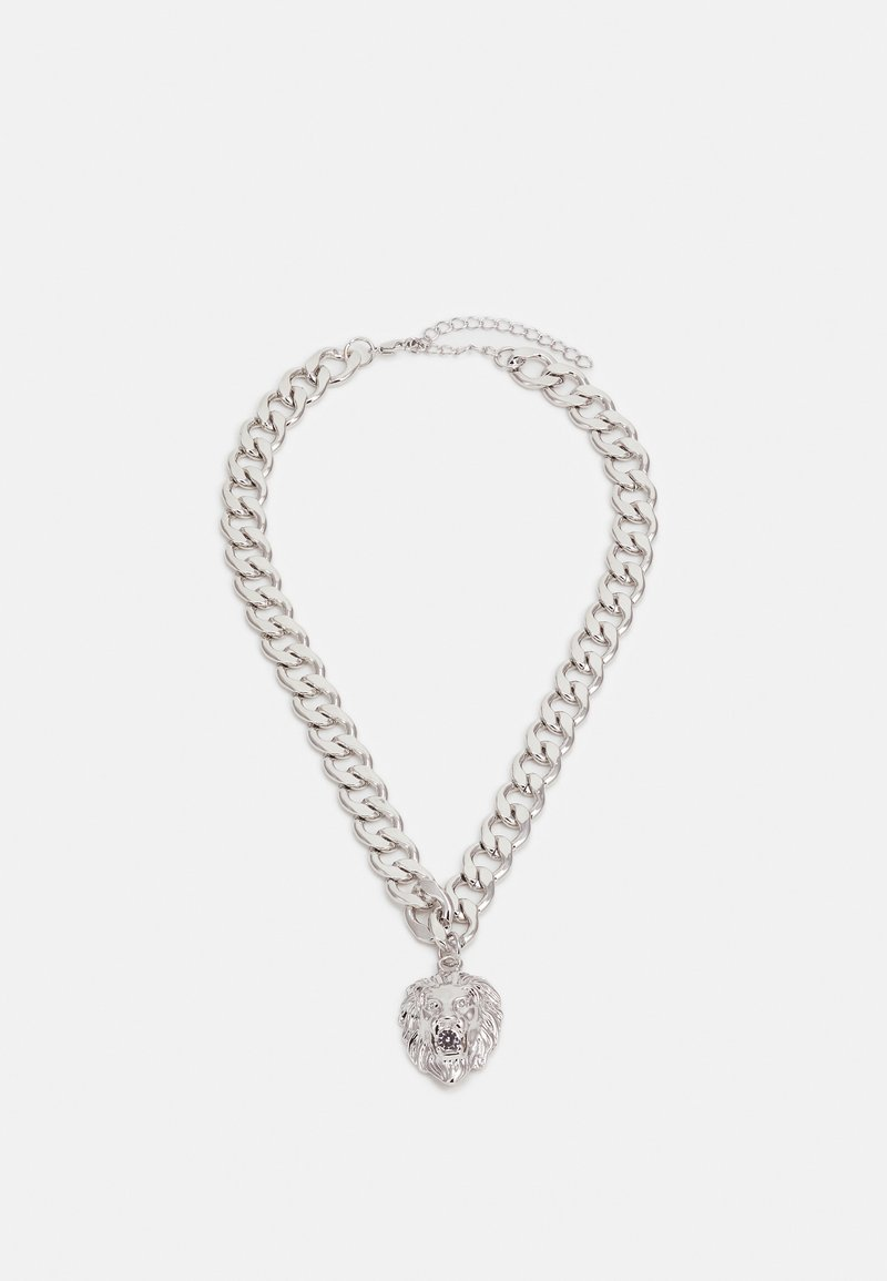 Urban Classics - LION BASIC NECKLACE - Collana - silver-coloured