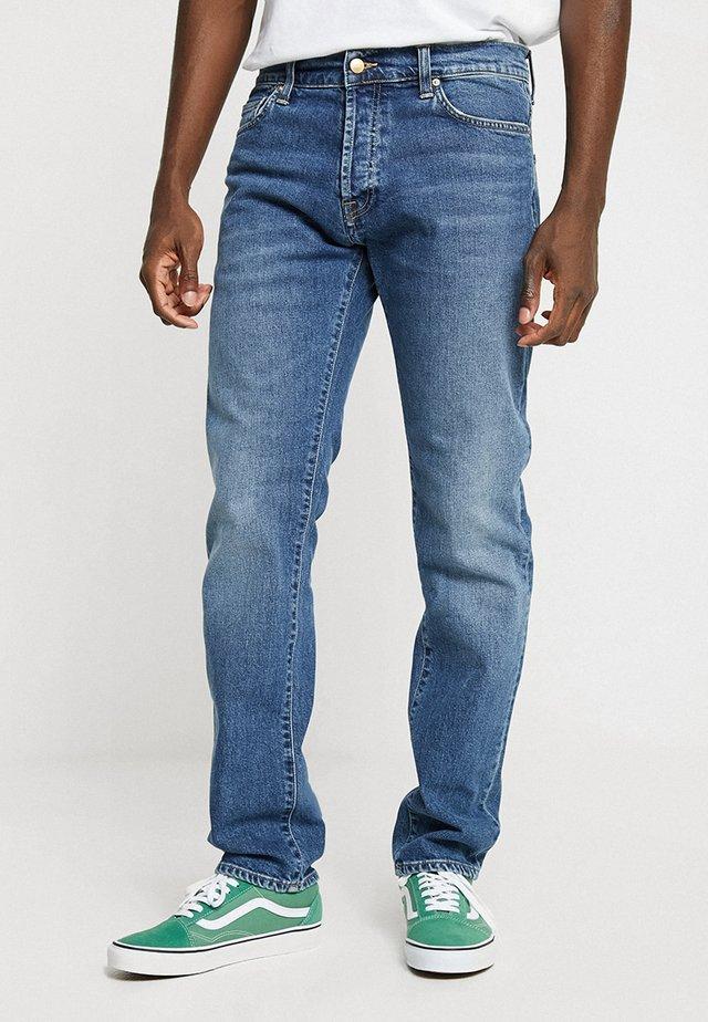 KLONDIKE MILLS - Jeans a sigaretta - blue stone