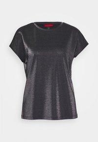 HUGO - DIJALLA - Basic T-shirt - black - 4