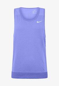 W NK INFINITE TANK - Sports shirt - sapphire/light thistle
