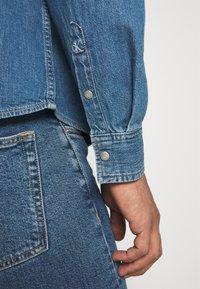 Calvin Klein Jeans - OVERSIZED SHIRT - Overhemd - mid blue - 5