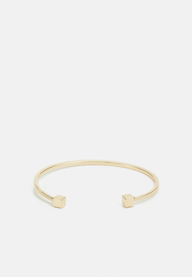SQUARE END CUFF - Armband - gold-coloured